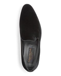 To Boot New York - Men's Bolton Velvet Smoking Slippers