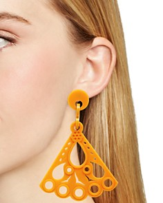 Flex Jewel - Leque Layse Drop Earrings - 100% Exclusive