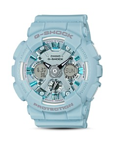 G-Shock - S Series Pastel Blue Watch, 45.9mm