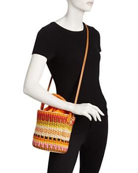 SERPUI - Donna Straw Bucket Bag