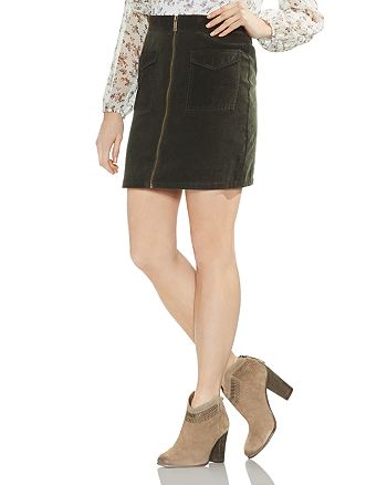 VINCE CAMUTO - Washed Corduroy Skirt