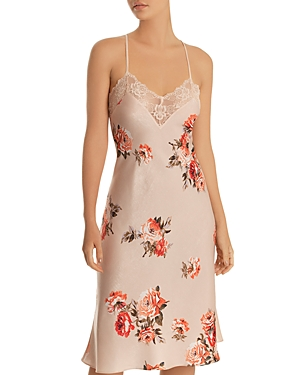 In Bloom By Jonquil IN BLOOM BY JONQUIL SHIMMER SATIN NIGHTGOWN