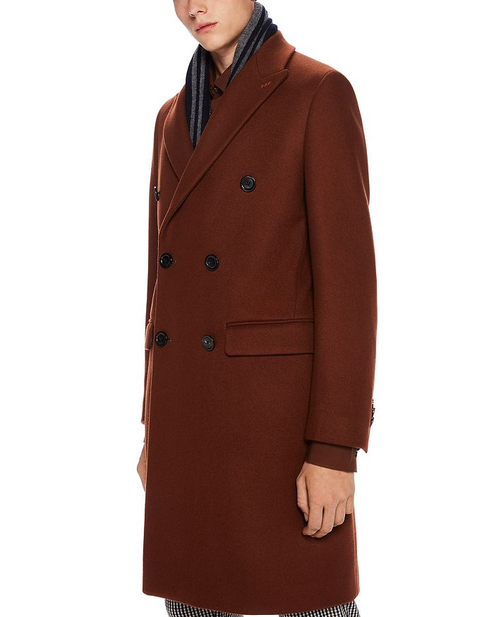 Scotch & Soda - Double-Breasted Topcoat