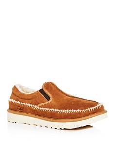 UGG® - Men's Neumel Suede Moc-Toe Slippers