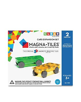 Magna-tiles - Cars Expansion Set - Ages 3+