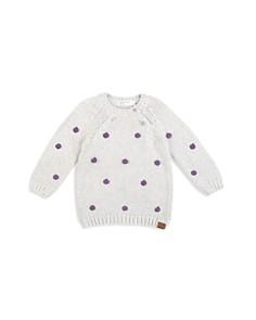 Miles Child - Girls' Pom-Pom Sweater - Little Kid