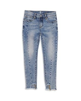7 For All Mankind Girls Big Ankle Skinny Stretch Jean