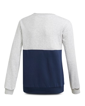 Adidas - Girls' Color-Blocked Fleece Sweatshirt - Big Kid
