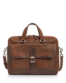 Frye - Oliver Double-Handle Leather Briefcase
