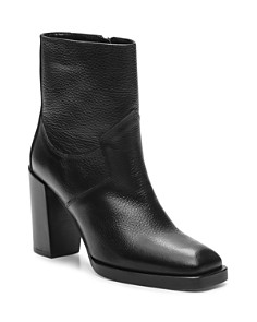 The Kooples - Women's Square Toe Leather Boots