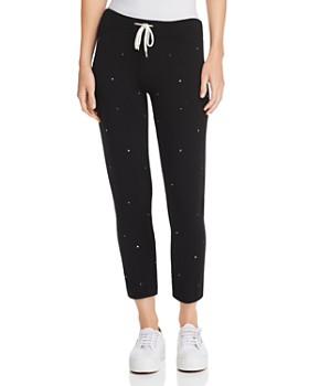 Monrow - Supersoft Vintage Embellished Sweatpants