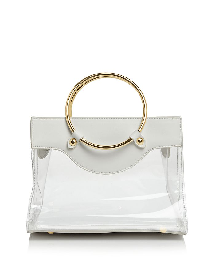 AQUA - Clear Ring Handle Mini Tote – 100% Exclusive