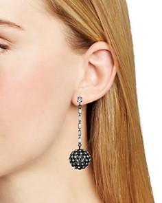 AQUA - Crystal Ball Drop Earrings - 100% Exclusive