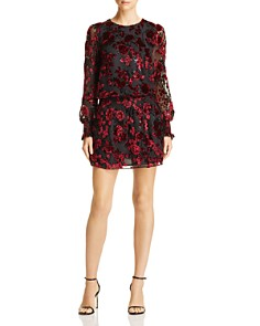 Parker - Carmindy Floral Velvet Burnout Dress
