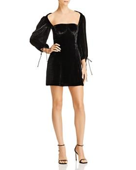 For Love & Lemons - Nadine Velvet Bustier Dress