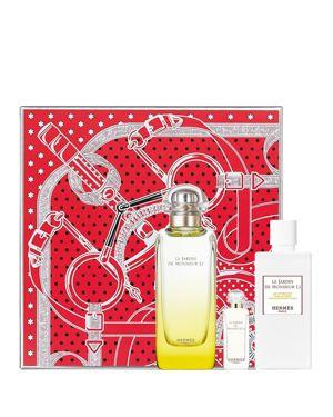 HERMES Limited Edition F & #234Tes En Herm & #232S Le Jardin De Monsieur Li Gift Set, Eau De Toilette