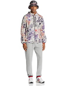 Moncler - Hawaiian Bucket Hat, Fraser Hawaiian Jacket & Logo Cuffed Sweatpants