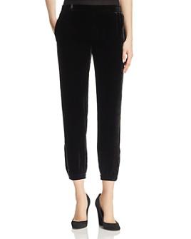 Go by Go Silk - Velvet Jogger Pants