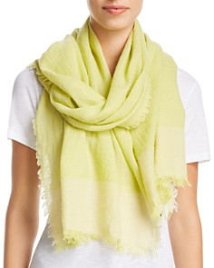 Eileen Fisher - Color Block Gauze Scarf