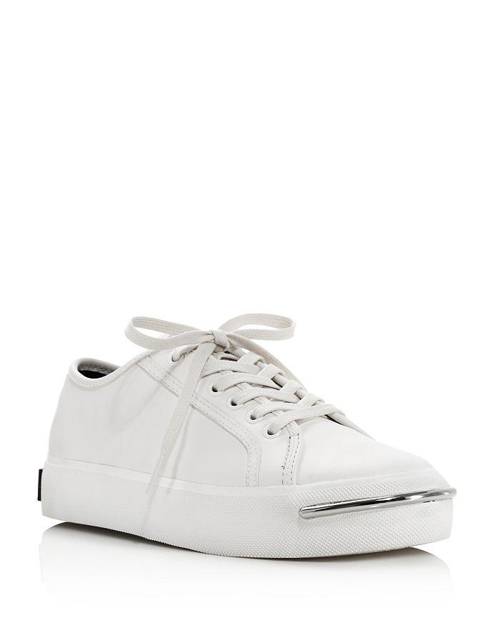 cbfaf7007803 Alexander Wang Women s Pia Low Top Leather Platform Sneakers ...