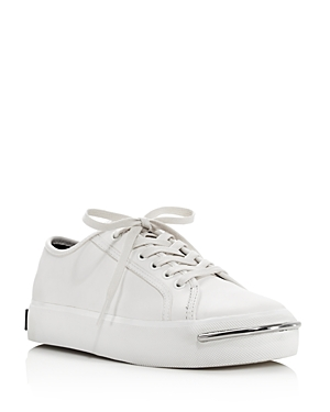 Alexander Wang Women's Pia Low Top Leather Platform Sneakers