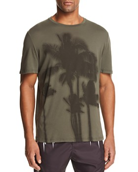 Neil Barrett - Sunset Palm Tree Graphic Tee