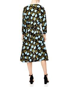 Sandro - Fraternite Floral Midi Dress