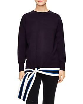 Sandro - Pampa Tie-Hem Sweater