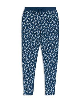 Ralph Lauren - Girls' Floral Cotton Pants - Big Kid
