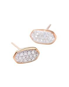 Kendra Scott - Amelee Diamond Stud Earrings in 14K Yellow Gold, 14K Rose Gold or 14K White Gold