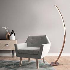 JAlexander - Bradley Copper Floor Lamp