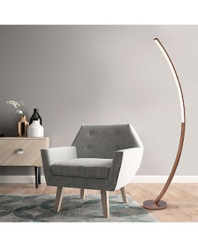 JAlexander - Bradley Copper Floor Lamp