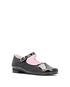 Nina - Girls' Bonnett Leather Mary Jane Shoes - Walker, Toddler, Little Kid
