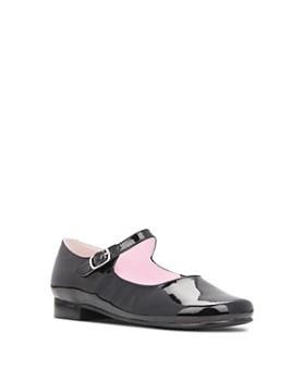 Nina - Girls' Bonnett Leather Mary Jane Shoes - Walker, Toddler, Little Kid