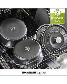 GreenPan - SimmerLite 5.5-Quart Cast Aluminum Ceramic Non-Stick Dutch Oven