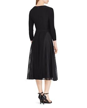Ralph Lauren - Satin-Trimmed Dress