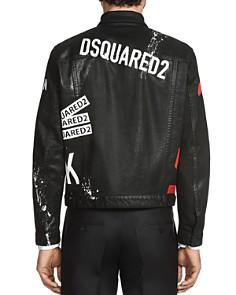 DSQUARED2 - Dan Waxed Patch Jean Jacket