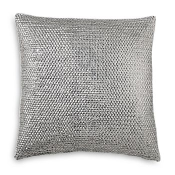 """Donna Karan - Luna Sequin Decorative Pillow, 16"""" x 16"""""""