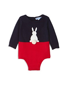 Jacadi - Girls' Color-Block Bunny Bodysuit - Baby