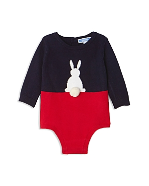 Jacadi Girls ColorBlock Bunny Bodysuit  Baby