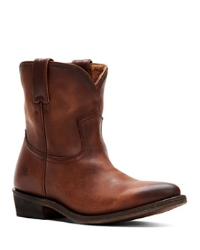 7029c7042bb Frye - Women s Billy Short Leather Western Boots ...