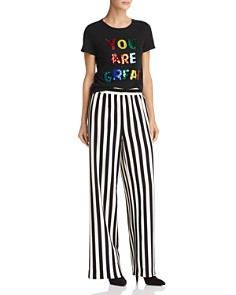 Alice and Olivia - Rylyn Embellished Tee