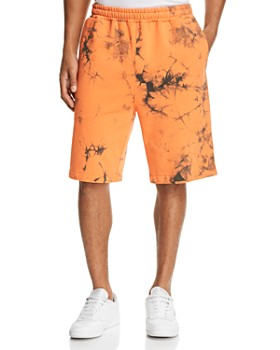 Helmut Lang - Terry Acid-Wash Pull-On Shorts