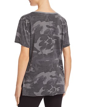Free People - Army Camo Tee