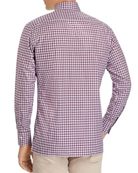 Canali - Checked Regular Fit Sport Shirt