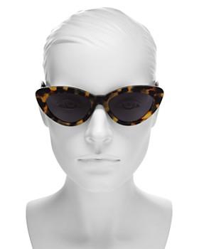 9a8c0934a6a5 ... 53mm Illesteva - Women's Pamela Cat Eye Sunglasses, 53mm