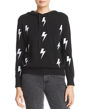 AQUA - Lightening Bolt Hooded Sweater - 100% Exclusive