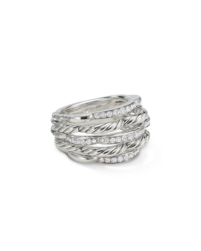 David Yurman - Tides Dome Ring with Diamonds