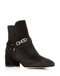 Jimmy Choo - Women's Malin 40 Block-Heel Booties