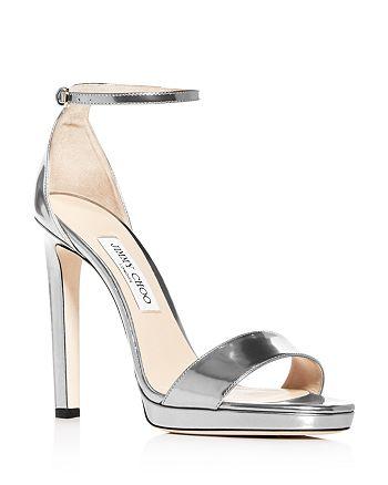 Jimmy Choo - Women's Misty 120 Ankle Strap High-Heel Sandals